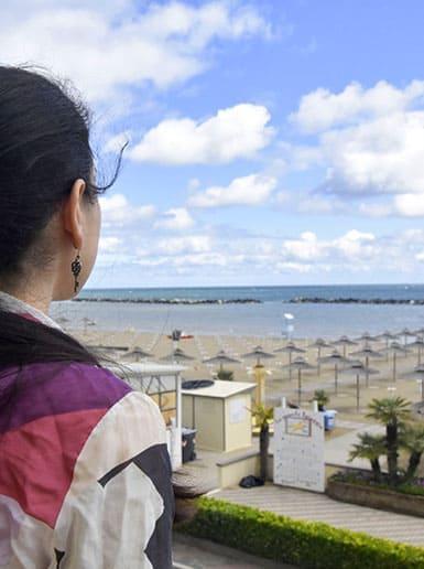 Hotel Villa Aurora Camera Balcone